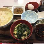 すき家の納豆朝食セット