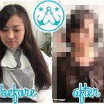 モテ髪診断からのバッサリカットbefore&after