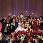 4月9日はPEACE統括サイレントマネージャーの結婚式。