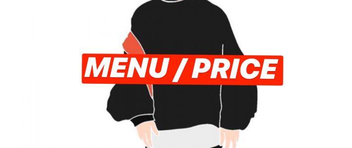 menu/price