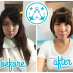 【Vol.35】ビフォーアフター☆骨格診断【ナチュラルタイプ】イメチェン☆ロングからバッサリ、ショートボブbefore&after